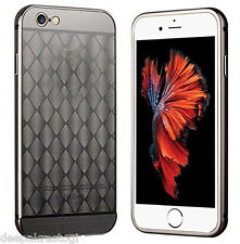Luxury Aluminium Frame Bumper With Diamond Acrylic Back Cover For  iphone 5 / 5S
