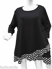 Tunique taille 42 44 46 48 50 52 ample mariage chic grande taille femme 61012