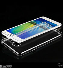 2 Piece Transparent Ultra Thin Soft Silicon Back Cove Samsung Galaxy Models 2016