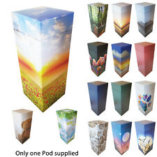 NEW! ScatterPod -Scattering & Eco Friendly Medium Cremation Urn -Various Designs