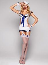 Costume travestimento da marinai vestito body doll festa carnevale donna