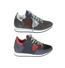 €245 PHILIPPE MODEL SNEAKERS WORLD SCARPE UOMO SHOES HERRENSHUHE100%AUTE