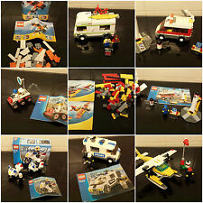 lego sets 5866 3366 7639 5762 7235 7245 3365 3178 police plane bike camper city