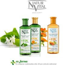 NATUR VITAL CHAMPU 300ML HAPPY HAIR CALENDULA TE VERDE HAPPY KIDS MELOCOTON