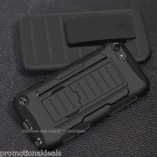 Super Protective Future Armor Hybrid Hard Back Case For Apple iPod Touch 5 5th