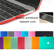 Rubberized Hard Case Cover For Macbook Air 13/11 Pro 13/15'' Retina Laptop Shell