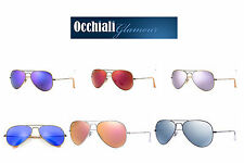 Ray-Ban-RB3025- Aviator -Flash- Lenses -Occhiali da sole/ sunglassess