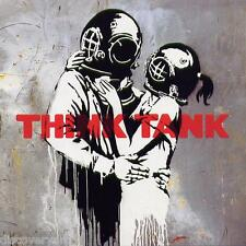 Banksy Blur Think Tank Canvas Graffiti Wall Art Poster Print