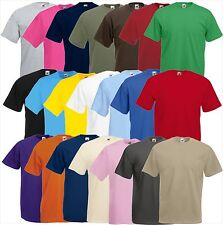 5er Set FRUIT OF THE LOOM Shirt Valueweight  S M L XL XXL 3XL 4XL 5XL(B)Pack FOL