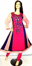 Shalwar kameez eid pakistani designer anarkali stitched sari abaya dress suit 16