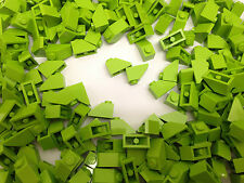 LEGO 3040 - Lime GREEN Slope Roof Tile 1X2 / 45 D. Angle - 50 Pieces Per Order