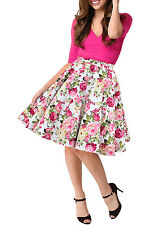 BlackButterfly Floral Vintage Rockabilly Divinity Full Circle 1950's Skirt