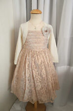 bnwt Gorgeous Monsoon Darcey lace Dusky pink corsage wedding, Bridesmaid Dress