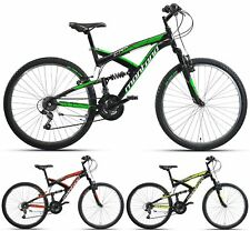 "26"" ZOLL MONTANA CRX FULL SUSPENSION MOUNTAINBIKE FULLY FAHRRAD SHIMANO 21-GANG"