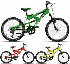 "20"" ZOLL MOUNTAINBIKE MONTANA CRX FULL SUSPENSION FULLY MTB FAHRRAD 6 GANG"