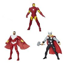 Avengers Assemble Action Figure: Hawkeye, Capitan America, Iron Man, Thor, Falco