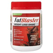 Naturopathica - Fatblaster Weight Loss Shake Double Choc Mocha 430g 99% Fat Free