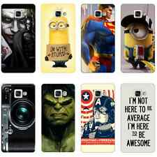 SAMSUNG GALAXY A3 (2016) Cases Designer Printed Cartoon Back Cover for Girl 3