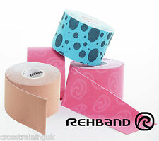 Rehband RX Tape RXTAPE Kinesiology Elastic Sports Tape Physio Running CrossFit