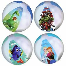 Official Marvel Disney Inflatable Beach Ball Avengers Dinosaur Dory Swim Toy