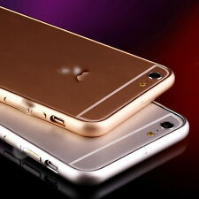 New Metal Bumper Case Cover for iPhone 6 Plus - Golden / Silver- Protect & Style