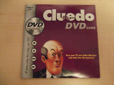 CLUEDO DVD game parts: DVD or detective notes x 15 sheets