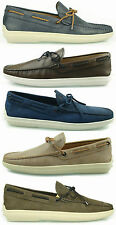 €330 Tod's mocassino BARCA uomo SCARPE shoes loafers herrenschuhe man mokassin