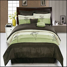 Luxury 12pc Portland Bed in a Bag Bedding Set With 4PC Sheet Set Included