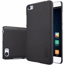 100% Original Nillkin Frosted Hard Back Cover Case + Screen Guard For Xiaomi Mi5