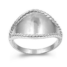 Simple Promise Ring, 925 Sterling Silver, Trendy Cute Gift w Box, Thin Band, Hot