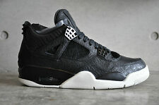 Nike Air Jordan 4 Retro Premium 'Pinnacle' - Black/Black-Sail