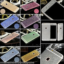 Luxury Glitter Full Body Sticker Skin Decal for iPhone 5 5S 6 6S 6Plus 6SPlus