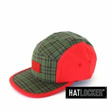 Crooks & Castles - Mad Plaid Forest True Red 5 Panel