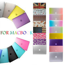 """Rubberized Hard Case Cover Shell For Macbook Pro 13/15"""" Retina 12"""" Air 13/11inch"""