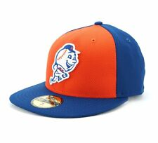 New Era York Mets MLB Diamond Authentic 59Fifty Baseball Cap Multicoloured
