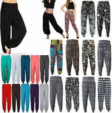 NEW STRETCH LADIES WOMENS HAREM TROUSERS ALI BABA LONG BAGGY HAREM LEGGINGS 8-26