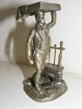 Cries of London JOHN PINCHES Pewter Figurine - The Muffin Man 1977