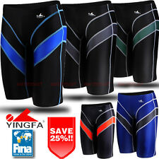 FINA APPROVED NWT YINGFA9402 MENS SWIMMING SHORTS RACING JAMMER ALL Sz FREE SHIP