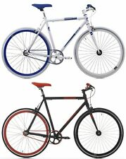 "28"" ZOLL FIXED GEAR FAHRRAD CINZIA SKINNY ALUMINIUM FIXIE SINGLE SPEED BIKE"