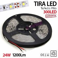 Tira de Led 300 leds 3528 Blanco Frio o Cálido 5m 60 Led/metro Interior