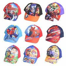 Official Estate Capellino Da Baseball Misura 52 54 S,m Spiderman Avengers