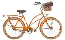 "EMBASSY SUNRISE 26"" BEACH CRUISER DAMEN FAHRRAD MÄDCHEN CUSTOM CITYRAD ORANGE"