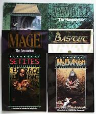 Various White Wolf Publishing Books - Vampire, Mage, Werewolf - Multi-Listing