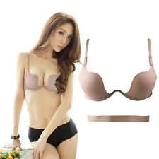 New Deep V Sexy Push Up Bras Brassiere Panty Bra Sets Lingerie Underwear