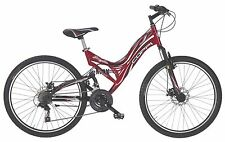 "26"" ZOLL COPPI MTB FAHRRAD FULLY MOUNTAINBIKE FULL SUSPENSION 21 GANG"