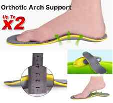 Up to 2 Pairs Orthotic Arch Support Shoe Insoles Pads Pain Relief Men Women Fast