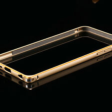 Premium Aluminium Metal Bumper / Frame with Golden Border for Apple iPhone 4/4S