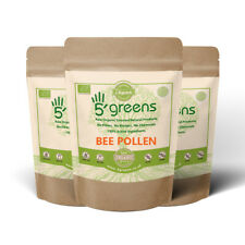 5Greens Organic Raw Spanish Bee Pollen - Packed with 5greens Organic Passion!