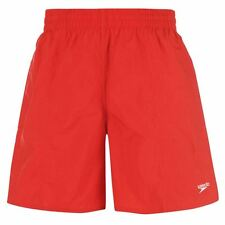 Speedo Mens Swim Swimming Shorts Red New With Tags