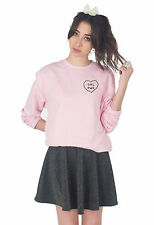 Fille PWR Pull Sweat Pull Mode Blogger Grunge Cute fille Puissance